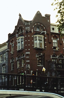 Haus in Amsterdam.