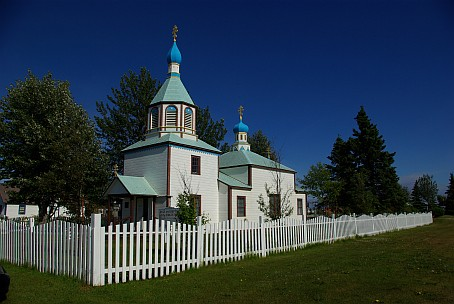 Russisch-orthodoxe Kirche in Kenai.