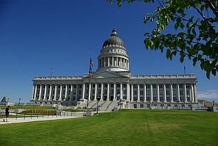 Capitol von Salt Lake City.