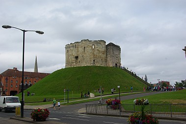 Clifford's Tower von York.