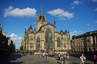 St. Giles Cathedral.
